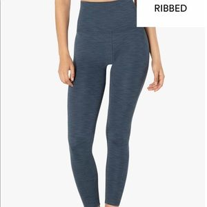 Beyond Yoga Heather Ribbed Legging